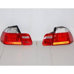 SET OF REAR TAIL LIGHTS BMW E46 02-05 4-DOOR LED