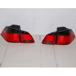 SET OF REAR TAIL LIGHTS BMW E61 LED RED BLACK