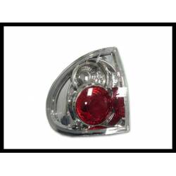 Set Of Rear Tail Lights Renault Laguna 1995 Lexus Chromed
