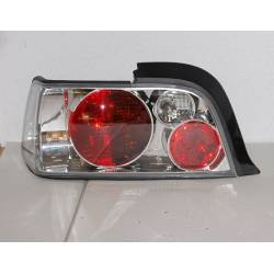 Set Of Rear Tail Lights  BMW E36 Coupe Lexus Chromed