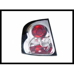 Set Of Rear Tail Lights Skoda Octavia 1996-2000, Lexus Chromed
