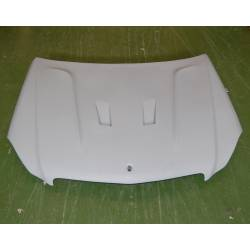 Fibreglass Bonnet Mercedes W204 11-13 Black Serie