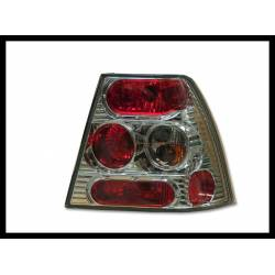 SET OF REAR TAIL LIGHTS VOLKSWAGEN BORA LEXUS CHROMED