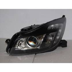 SET OF HEADLAMPS DAY LIGHT OPEL INSIGNIA 08 DRL BLACK