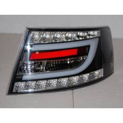 Set Of Rear Tail Lights Cardna Audi A6 2004-2008, Lexus Black Lightbar