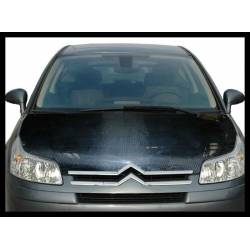 CARBON FIBRE BONNET CITROEN C4 WITHOUT AIR INTAKE