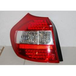 SET OF REAR TAIL LIGHTS BMW E87 2004 SERIE 1 LED RED