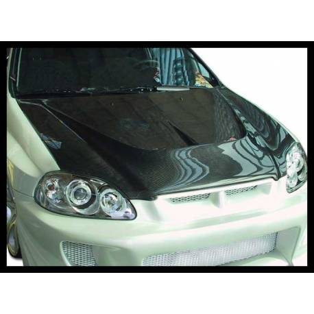 carbon fibre bonnet honda civic 1996 2 3 4 door with air. Black Bedroom Furniture Sets. Home Design Ideas