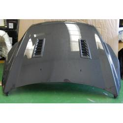 Carbon Fibre Bonnet Ford Focus 2008 RS Type, With Air Intake