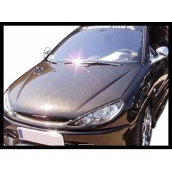 Carbon Fibre Bonnet Peugeot 206, Without Air Intake
