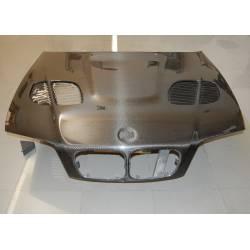 Capot Carbone BMW E46 '98-01 4P. M3 GTR C/T