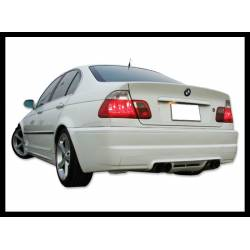 REAR BUMPER BMW E46 1998-2004, M3 TYPE, 4-DOOR DOUBLE EXHAUST