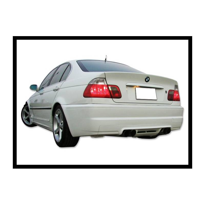 Rear Bumper BMW E46 1998-2004, M3 Type, 4-Door Double