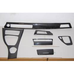 Carbon Fibre inside kit BMW E92 IDRIVE 6 PIECES