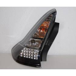 SET OF REAR TAIL LIGHTS CITROEN C4 LED BLACK