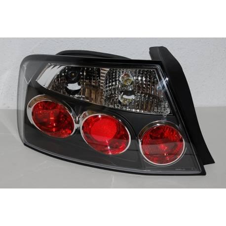 Set Of Rear Tail Lights Peugeot 407, Lexus Black