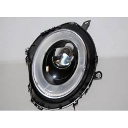 SET OF HEADLAMPS MINI COOPER 06 R56 L/D BLACK LTI