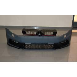 FRONT BUMPER VOLKSWAGEN POLO 2009-2015 LOOK GTI ABS