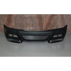 FRONT BUMPER BMW E46 1998-2002, M3 TYPE WITH CARBON FIBRE TIPS