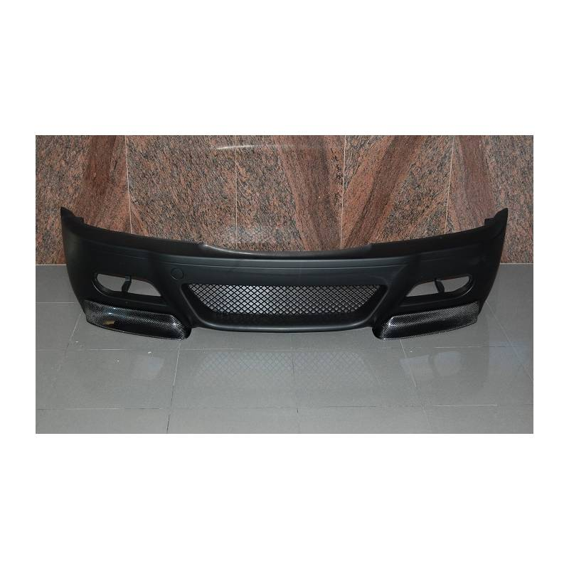 pare choc avant bmw e46 39 98 02 type m3 avec pointe carbone. Black Bedroom Furniture Sets. Home Design Ideas