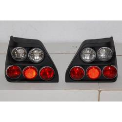 Set of rear tail lights Volkswagen Golf 2 black II
