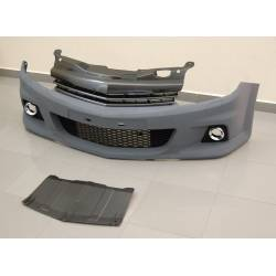 FRONT BUMPER OPEL ASTRA H LOOK OPC SPORT GRILL