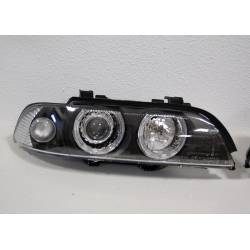 SET OF HEADLAMPS BMW E39 1995-2000 BLACK