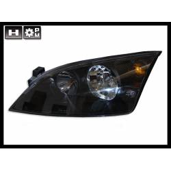 SET OF HEADLAMPS FORD MONDEO 2001 BLACK