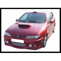 FRONT BUMPER CITROEN XSARA 1997, 4 HEADLAMPS TYPE